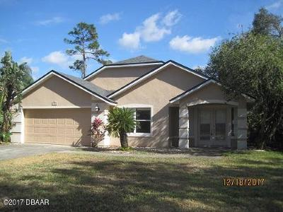Volusia County Single Family Home For Sale: 6087 Jasmine Vine Drive