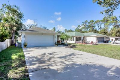 New Smyrna Beach Single Family Home For Sale: 504 Old Mission Road
