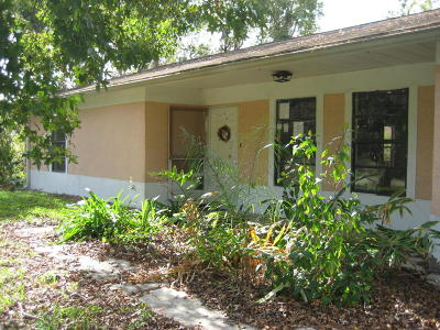 Volusia County Single Family Home For Sale: 1434 Roosevelt Boulevard