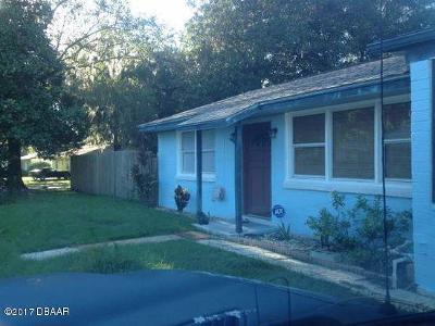 Ormond Beach Single Family Home For Sale: 461 Jeannette Drive
