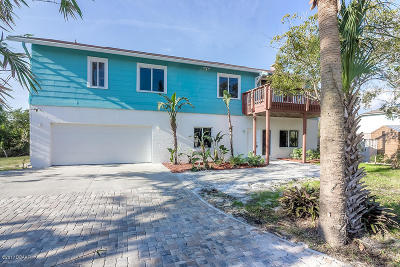 New Smyrna Beach Single Family Home For Sale: 4166 Saxon Drive