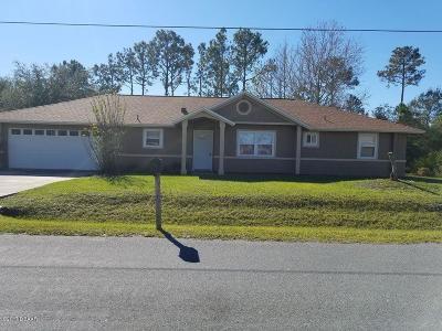 Palm Coast Plantation Single Family Home For Sale: 27 Bud Field Drive