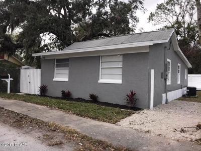 New Smyrna Beach Single Family Home For Sale: 318 Palm Street