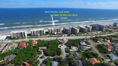 Ponce Inlet Condo/Townhouse For Sale: 4545 S Atlantic Avenue #3402