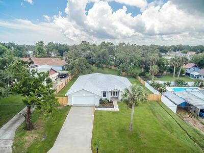 Port Orange Single Family Home For Sale: 216 Ocean Avenue