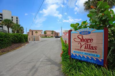 New Smyrna Beach Condo/Townhouse For Sale: 4495 S Atlantic Avenue #2010