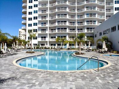 Daytona Beach Shores Condo/Townhouse For Sale: 2 Oceans West Boulevard #1904
