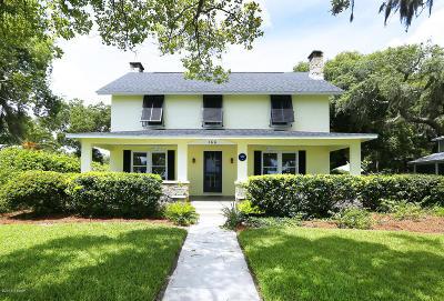Ormond Beach Single Family Home For Sale: 166 N Beach Street