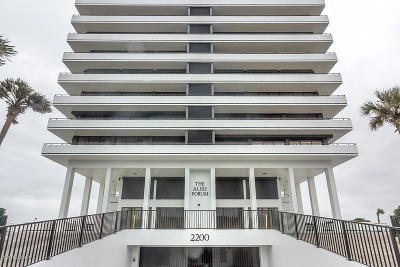 Daytona Beach Condo/Townhouse For Sale: 2200 N Atlantic Avenue #1602