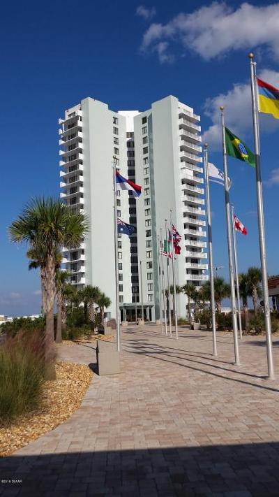 Daytona Beach Shores Condo/Townhouse For Sale: 3047 S Atlantic Avenue #1801