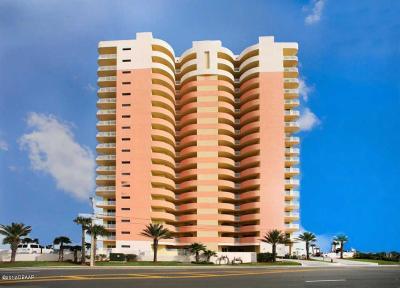 Daytona Beach Condo/Townhouse For Sale: 1900 N Atlantic Avenue #1401