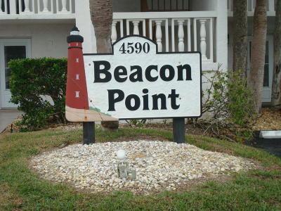 Ponce Inlet Condo/Townhouse For Sale: 4590 S Atlantic Avenue #243A