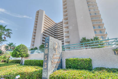 Daytona Beach Shores Condo/Townhouse For Sale: 2055 S Atlantic Avenue #1602