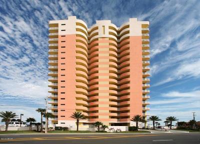 Daytona Beach Condo/Townhouse For Sale: 1900 N Atlantic Avenue #502