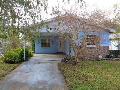New Smyrna Beach Single Family Home For Sale: 810 Cherry Street