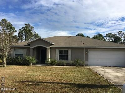 Palm Coast Single Family Home For Sale: 33 Seathorn Path