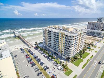 Daytona Beach Shores Condo/Townhouse For Sale: 3703 S Atlantic Avenue #706