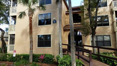 Daytona Beach Condo/Townhouse For Sale: 1401 S Palmetto Avenue #600