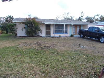 New Smyrna Beach Single Family Home For Sale: 803 E 15th Avenue