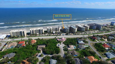 Ponce Inlet Condo/Townhouse For Sale: 4555 S Atlantic Avenue #4602