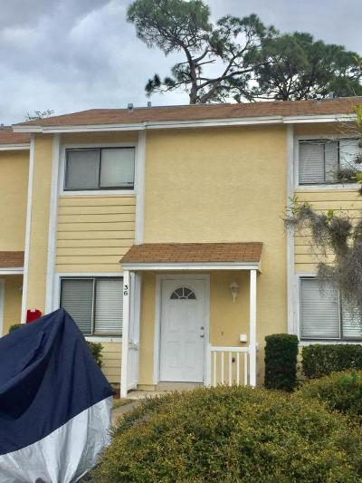 South Daytona Condo/Townhouse For Sale: 480 Reed Canal Road #36