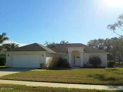 Port Orange Single Family Home For Sale: 800 Ashton Lakes Boulevard