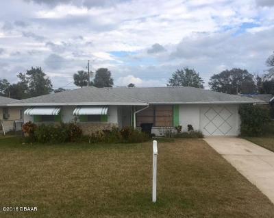 Daytona Beach Single Family Home For Sale: 1217 Margina Avenue
