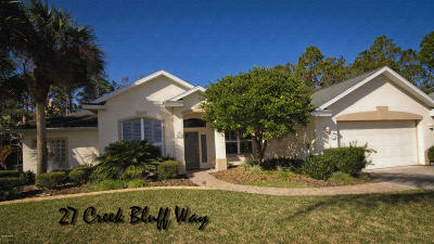 Ormond Beach Single Family Home For Sale: 27 Creek Bluff Way