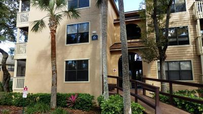 Daytona Beach Condo/Townhouse For Sale: 1401 S Palmetto Avenue #615