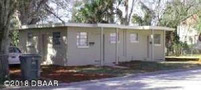 Daytona Beach Multi Family Home For Sale: 420 Henry Butts Drive