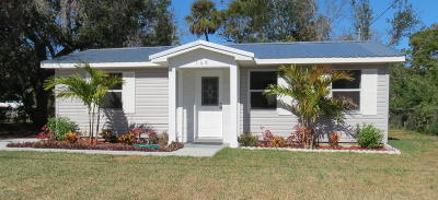 South Daytona Single Family Home For Sale: 508 Blake Road
