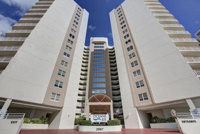 Daytona Beach Shores Condo/Townhouse For Sale: 2967 S Atlantic Avenue #1102
