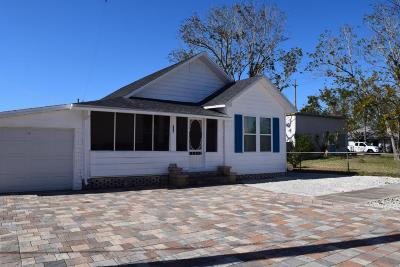 New Smyrna Beach Single Family Home For Sale: 708 Palmetto Street