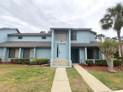 Daytona Beach Condo/Townhouse For Sale: 125 Blue Heron Drive #D