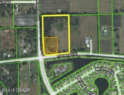 New Smyrna Beach Residential Lots & Land For Sale: 3585 Pioneer Trail