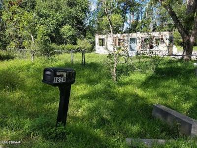 Deland Single Family Home For Sale: 1856 9th Avenue