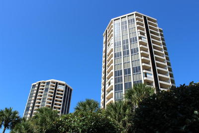 Daytona Beach Shores Condo/Townhouse For Sale: 1 Oceans West Boulevard #15B5