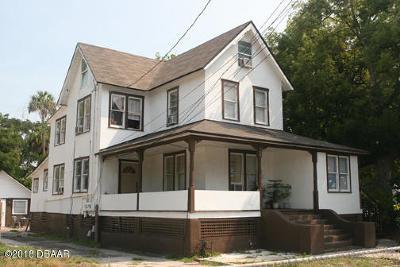Daytona Beach Single Family Home For Sale: 550 Magnolia Avenue
