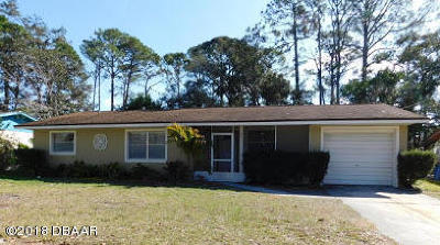 South Daytona Single Family Home For Sale: 557 Lambright Road