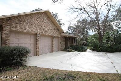 New Smyrna Beach Single Family Home For Sale: 554 Bottlebrush Court