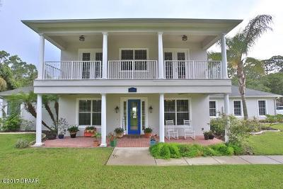 New Smyrna Beach Single Family Home For Sale: 2268 Turnbull Bay Road