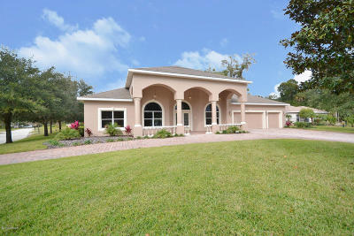 Ormond Lakes Single Family Home For Sale: 3 Old McDuffie Circle