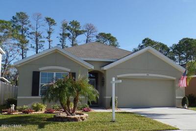 New Smyrna Beach Single Family Home For Sale: 481 White Coral Lane