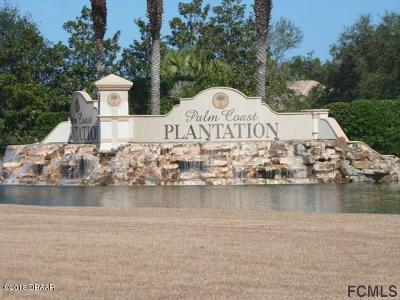 Palm Coast Plantation Residential Lots & Land For Sale: 202 S Riverwalk Drive