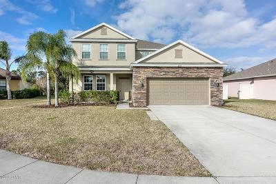 New Smyrna Beach Single Family Home For Sale: 2705 Dayflower Cove