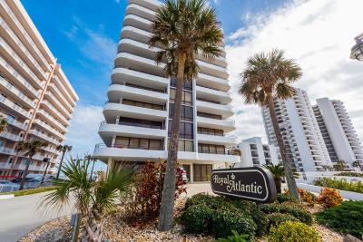 Daytona Beach Shores Condo/Townhouse For Sale: 3743 S Atlantic Avenue #4C00