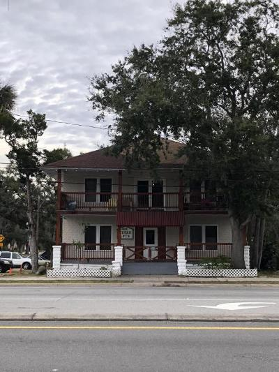 Daytona Beach Multi Family Home For Sale: 401 S Ridgewood Avenue