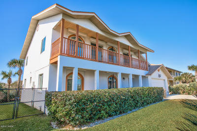 Ponce Inlet, South Daytona, Wilbur-by-the-sea Single Family Home For Sale: 4732 S Atlantic Avenue