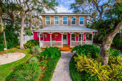 New Smyrna Beach Single Family Home For Sale: 220 Columbus Avenue