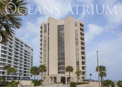 Daytona Beach Shores Condo/Townhouse For Sale: 3023 S Atlantic Avenue #301